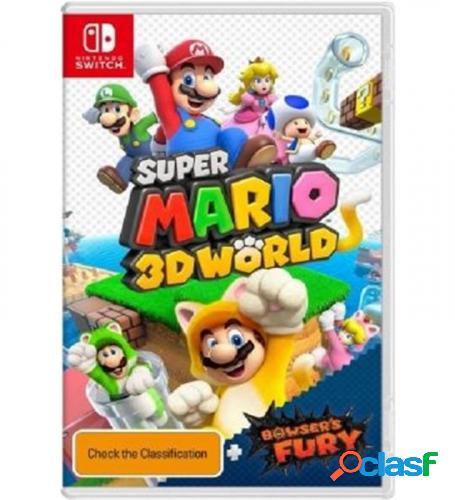Juego para Consola Nintendo Switch Super Mario 3D World +