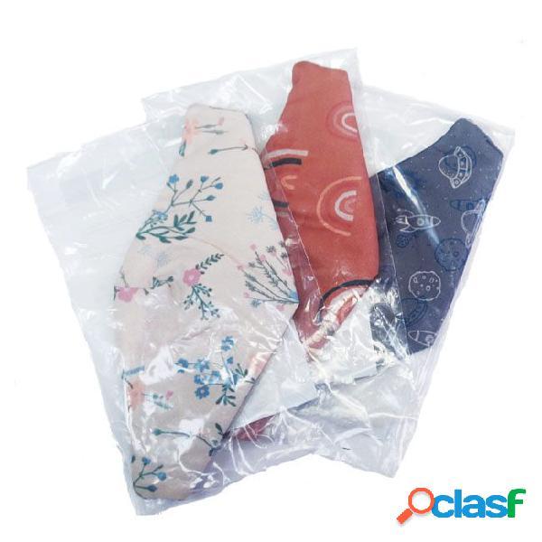 Kids' Cloth Face Mask Blue/Flowers