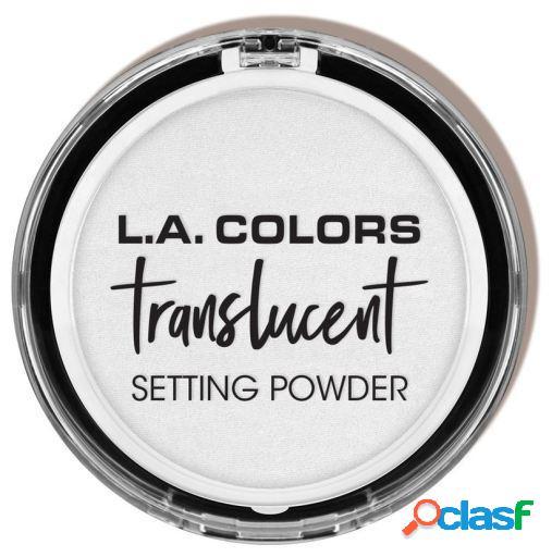 L.A. Colors Prebase Fijadora Translucent Pressed