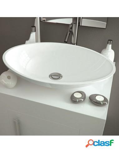 Lavabo Para Baño Sobre Encimera Ovalado Antea Solid Surface