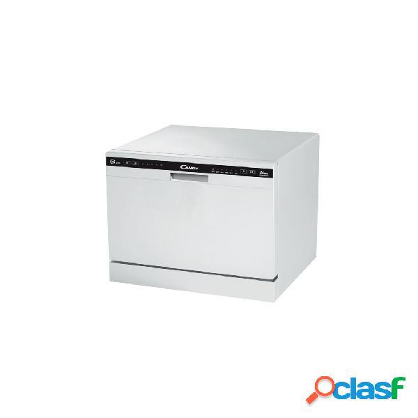Lavavajillas compacto - Candy CDCP 6/E Blanco 6 servicios