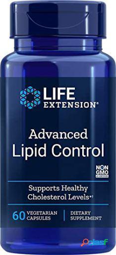 Life Extension Advanced Lipid Control 60 Cápsulas Vegetales