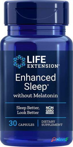 Life Extension Enhanced Sleep sin Melatonina 30 Cápsulas