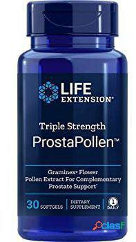 Life Extension ProstaPollen Triple Fuerza 30 Perlas