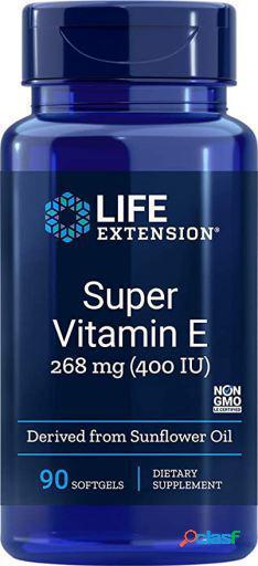 Life Extension Super Vitamina E 400 IU 90 Perlas