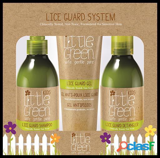 Little Green Sistema Antipiojos para Niños 3 piezas