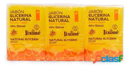 Lixone Jabón de Glicerina Natural 2 piezas