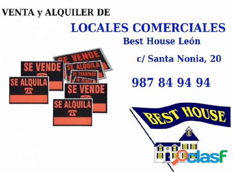 Local comercial en el centro de León.