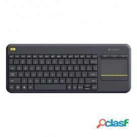 Logitech K400+ Wireless Touch Keyboard Negro