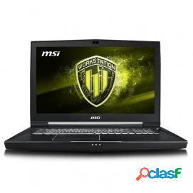 MSI WT75 8SM-009ES Intel Core i7-8700/32GB/1TB+256GB