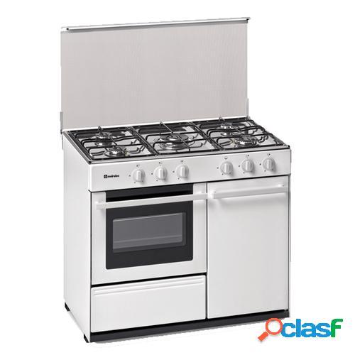Meireles G 2950 DV Cocina independiente Blanco Encimera de
