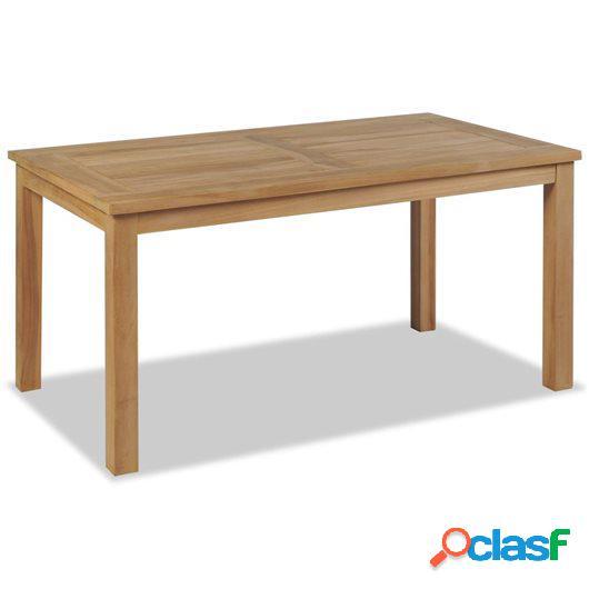 Mesa de centro de madera de teca 90x50x45 cm