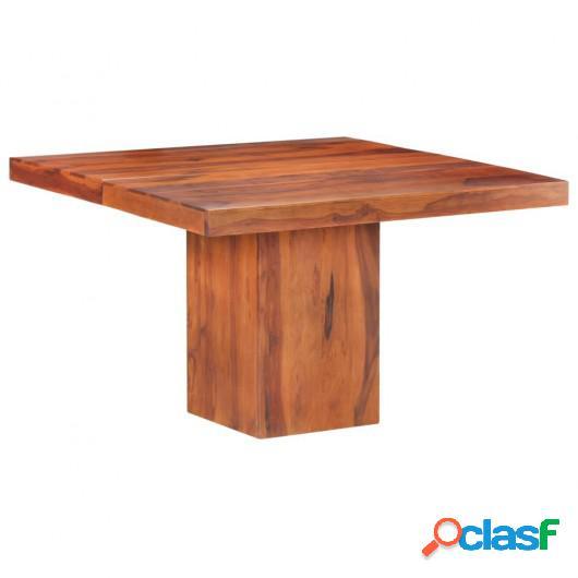 Mesa de comedor de madera maciza de Sheesham 120x120x77 cm