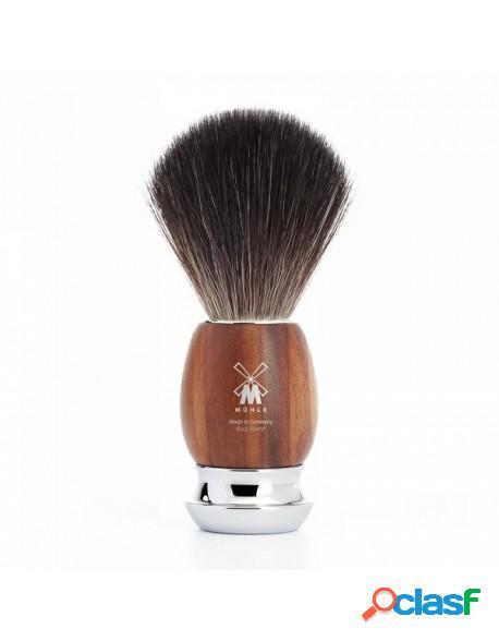 Mühle Shaving Brush Black Fiber Plum Wood Serie Vivo
