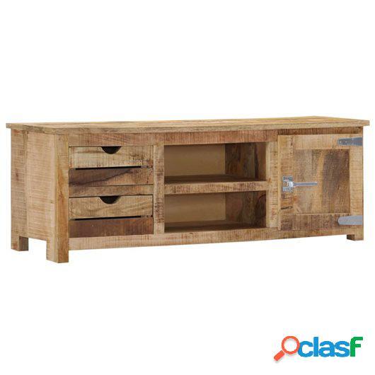 Mueble para la TV 120x30x40 cm madera maciza de mango