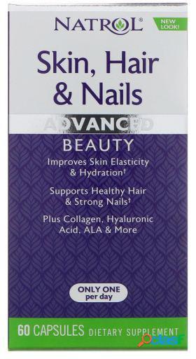 Natrol Skin Hair and Nails 60 Cápsulas 85 gr