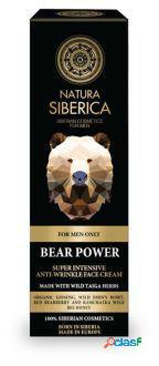Natura Siberica El Poder Del Oso - Crema Facial Antiarrugas