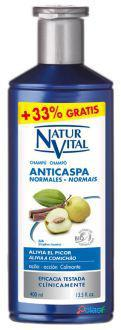 Naturaleza y Vida Champú Anticaspa Cabello Normal 400 ml