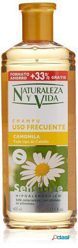 Naturaleza y Vida Champú Sensitive Camomila 300 ml