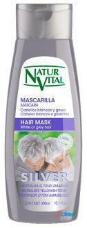 Naturaleza y Vida Mascarilla Silver White Or gray Hair 300