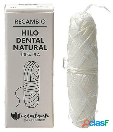 Naturbrush Hilo Dental de Bambú Vegano