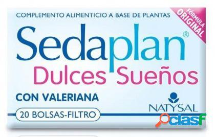 Natysal Sedaplan Infusión 20 Filtros