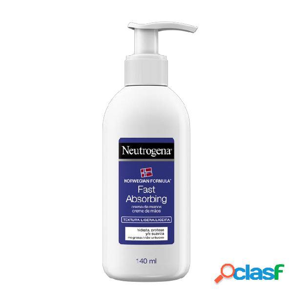 Neutrogena Fast Absorbing Hand Cream 140ml