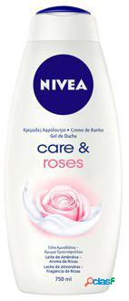Nivea Gel Ducha Care & Roses 750 ml