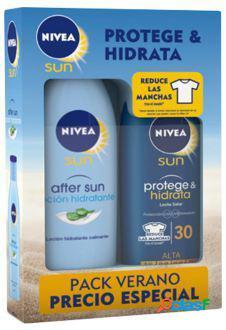 Nivea Pack de Verano After sun y Leche solar Protege &
