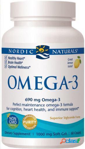 Nordic Naturals Omega3 Limón 60 Cápsulas Blandas 115 gr