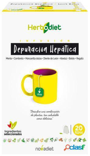 Novadiet Depuracion Hepatica Infusion 1,5 gr 20 Bolsitas