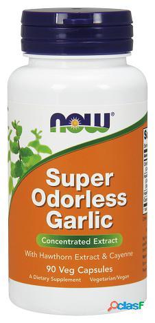 Now Foods Super Odorless Garlic 90 Cápsulas