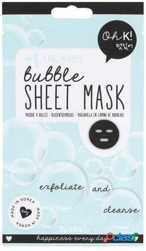 Oh K! Mascarilla Facial de Burbujas 20 ml