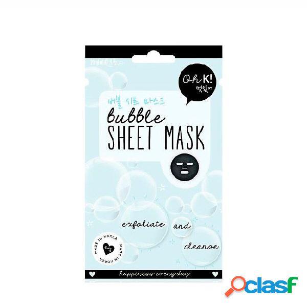Oh K Sheet Face Mask Mascarilla exfoliante y limpiadora 20ml
