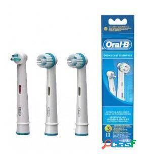 Oral B Cabezal de Recambio Ortho Care Essentials 3 Uds 3