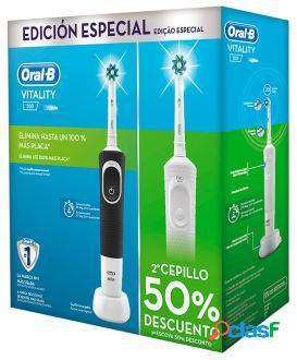 Oral B Cepillo Eléctrico Vitality Cross Action 2 Unidades