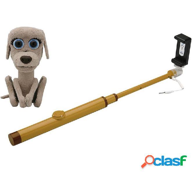 Palo Selfie Pets Bizak con Mascota Perro