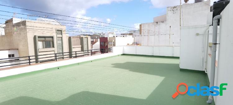 Piso de 2 habitaciones sin amueblar zona Guanarteme