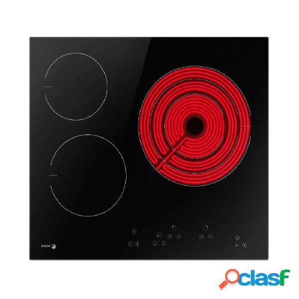Placa Vitrocerámica - Fagor 3VFT-330AC 3 Zonas de Cocción