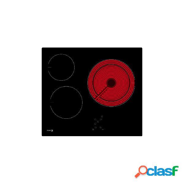 Placa Vitrocerámica - Fagor 3VFT-33AC 3 Zonas 60 cm Negro