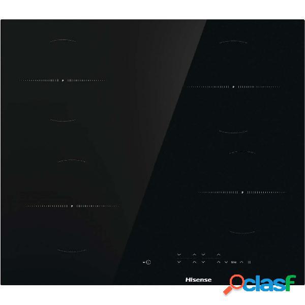 Placa Vitrocerámica - HISENSE E6431CB 4 zonas de cocción