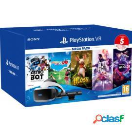 PlayStation VR + Cámara + Mega Pack V3 (5 Juegos)