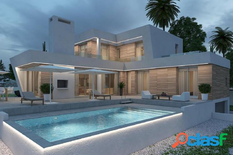 Preciosa villa en venta de estilo moderno en Calpe