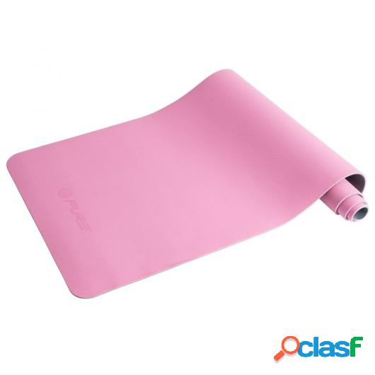 Pure2Improve Esterilla de yoga rosa y gris 173x58x0,6 cm