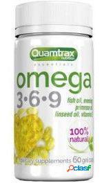 Quamtrax Nutrition Omega 3.6.9 500 mg 60 Cápsulas 65 gr
