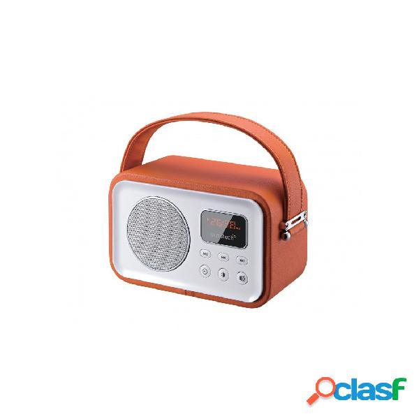 Radio Portátil - Sunstech RPBT450 Bluetooth Naranja