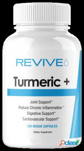 Revive MD Turmeric+ 120 cápsulas vegetales