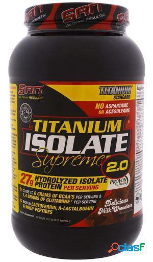 SAN Titanium Isolate Supreme 2.0 Milk Chocolate 912 gr