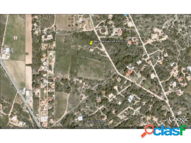 Se vende finca rustica de 50.000m2 en Formentera