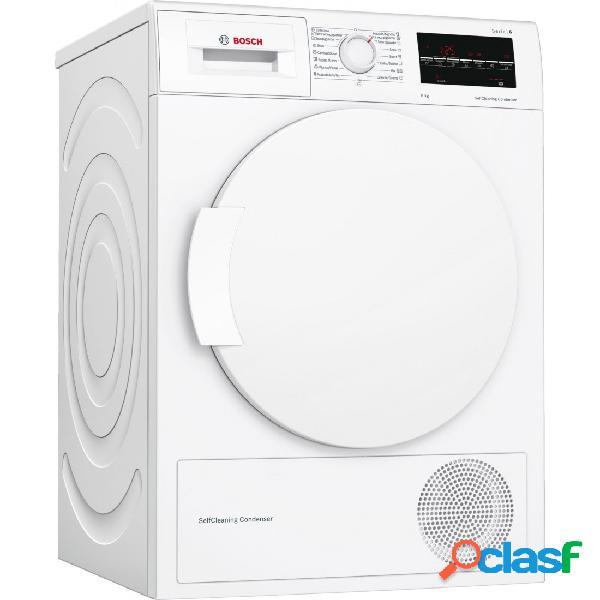 Secadora Condensación - Bosch WTW87641ES Blanco 8 kg
